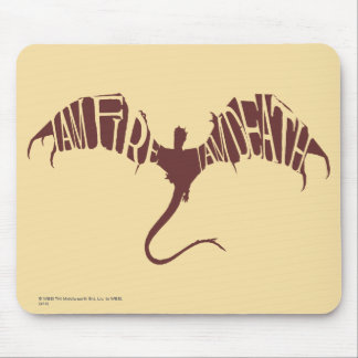 I Am Fire I Am Death - Graphic Mouse Pad