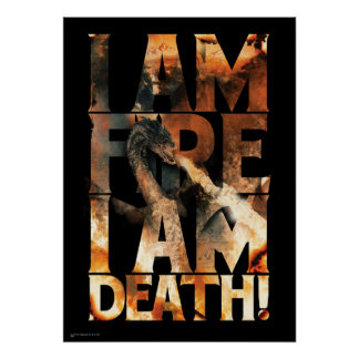 I Am Fire I Am Death! Poster