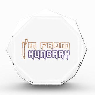 I am from Hungary. Award
