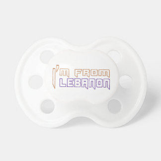 I am from Lebanon. BooginHead Pacifier