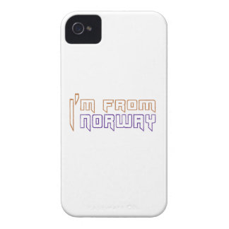 I am from Norway. iPhone 4 Case-Mate Case