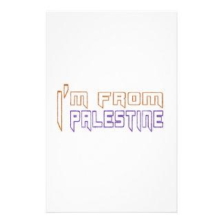 I am from Palestine. Stationery