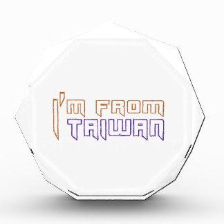 I am from Taiwan. Awards
