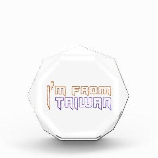 I am from Taiwan. Award