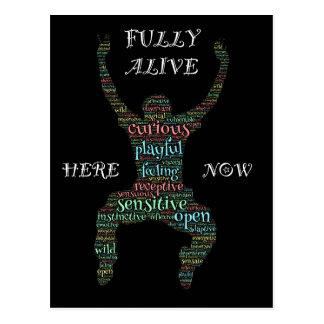 I Am Fully Alive! Customize Me! Postcard