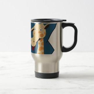 I am Giraffe Travel Mug