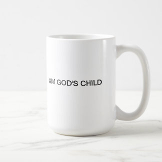 I AM GOD'S CHILD COFFEE MUG