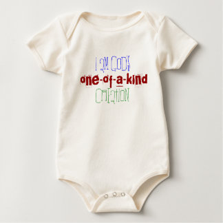I am God's one-of-a-kind creation Baby Bodysuit