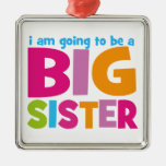 I am going to be a Big Sister Christmas Tree Ornament