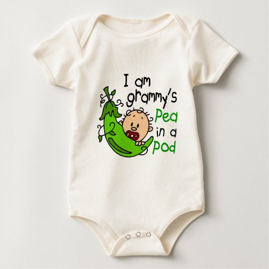 I am Grammy's Pea In A Pod Baby Bodysuit