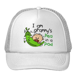 I am Grammy's Pea In A Pod Hats