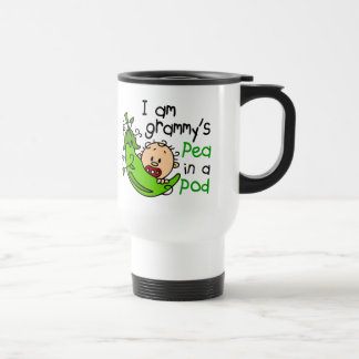 I am Grammy's Pea In A Pod Coffee Mugs