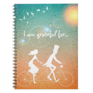 I am grateful for... Journal w/Tandem Couple