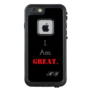 I am great law of attraction affirmation LifeProof FRĒ iPhone 6/6s case