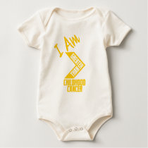 I Am Greater Than Childhood Cancer... Baby Bodysuit
