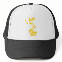 I Am Greater Than Childhood Cancer... Trucker Hat