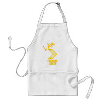 I Am Greater Than Vertical Adult Apron