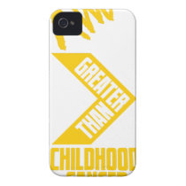 I Am Greater Than Vertical Case-Mate iPhone 4 Case