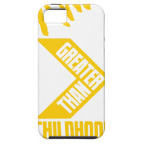 I Am Greater Than Vertical iPhone SE/5/5s Case