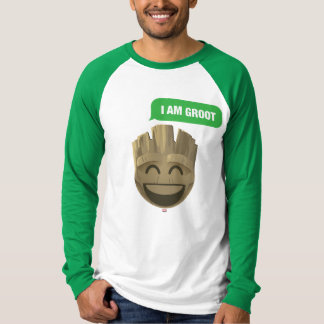 """I Am Groot"" Text Emoji T-Shirt"