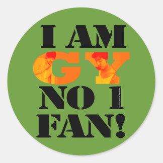 I am GY fan sticker