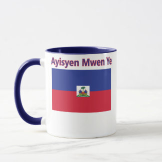 I am Haitian Mug