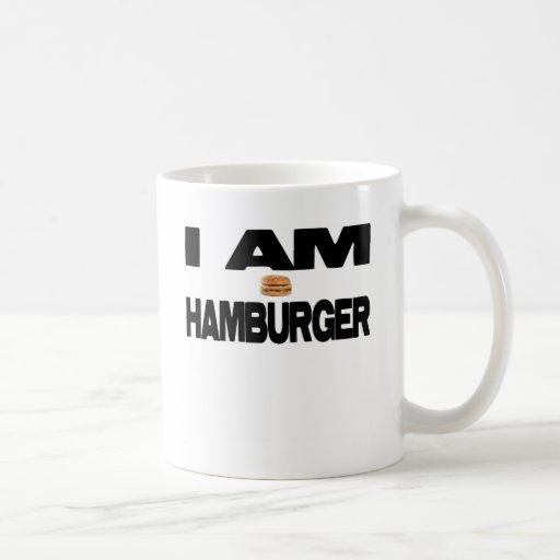 I Am Hamburger Mug