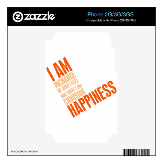 I am happiness decals for the iPhone 2G