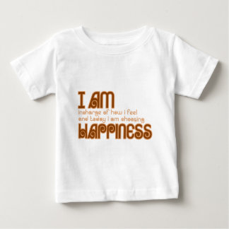 I am happiness infant t-shirt