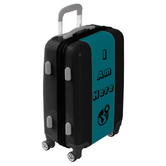 """I Am Here"" 22"" Suitcase"