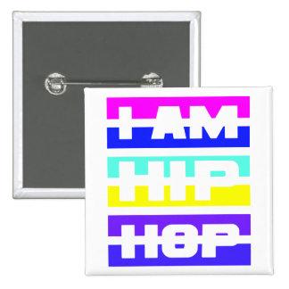 I Am Hip Hop button