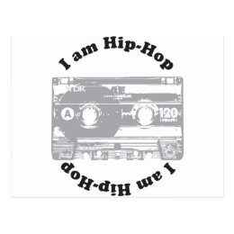 I Am Hip-Hop Postcard