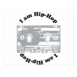 I Am Hip-Hop Postcard