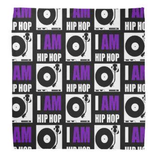 I AM HIP HOP - PURPLE LETTER v2 Bandana