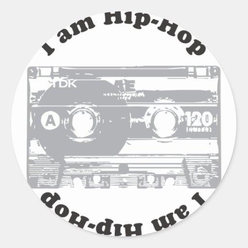 I Am Hip-Hop Stickers
