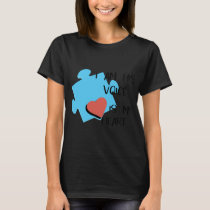 I am his voice is my heart autism t-shirts