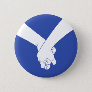 I Am Holding Your Hand by Jason Flack Pinback Button