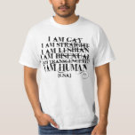 I am human tee