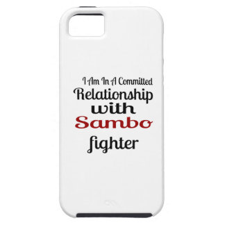 I Am In A Committed Relationship With Sambo Fighte iPhone SE/5/5s Case