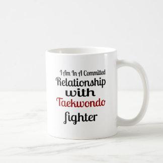 I Am In A Committed Relationship With Taekwondo Fi Coffee Mug