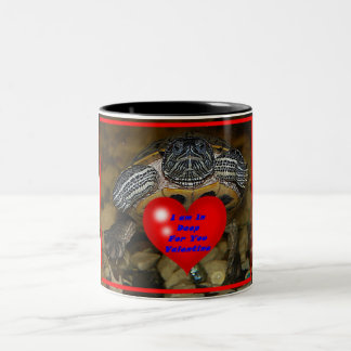 I am In Deep For You Valentine Turtle Mug