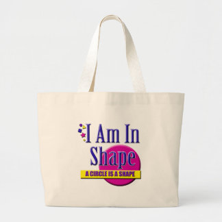 """I Am in Shape """"Fitness"""" Slogan Bags"""