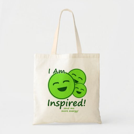 """""""I Am Inspired!"""" Games Tote Bag"""