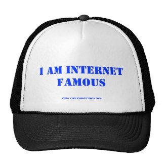 I AM INTERNET FAMOUS, FIDDY PIMP PRODUCTIONS 2008 TRUCKER HAT
