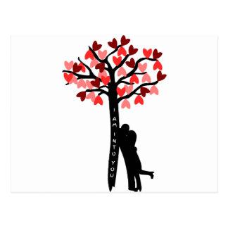 I am Into You valentine's day Postcard