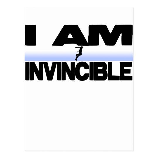 I Am Invincible Postcard