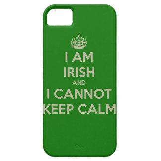 I am Irish and  and a I cannot keep calm iPhone SE/5/5s Case