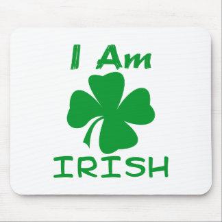 I Am Irish Mousepads