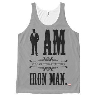 I Am Iron Man All-Over-Print Tank Top