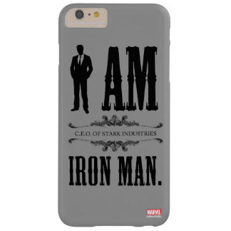 I Am Iron Man Barely There iPhone 6 Plus Case